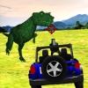La jeep chasse le dinosaure