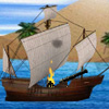 Un combat de bateaux