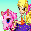 Stella et son poney