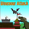 Les dinosaures et les dragons attaquent