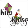 Le cycliste au cerf-volant