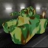 Tank dans la ville