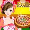 Pr�parer une pizza avec Bella