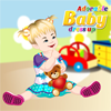 Habillage d'un b�b� adorable