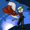 Plongeant de ninja