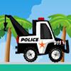 La remorque de la police
