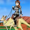Cavali�re sur kangourou