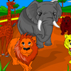 Coloriage de zoo