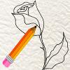 Apprendre � dessiner une rose