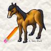 Apprendre � dessiner un cheval