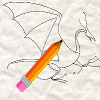 apprendre �  dessiner un dragon