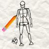 Apprendre �  dessiner un corps m�le