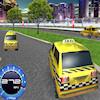 Une course de Taxi en 3D