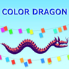 Dragon de couleur